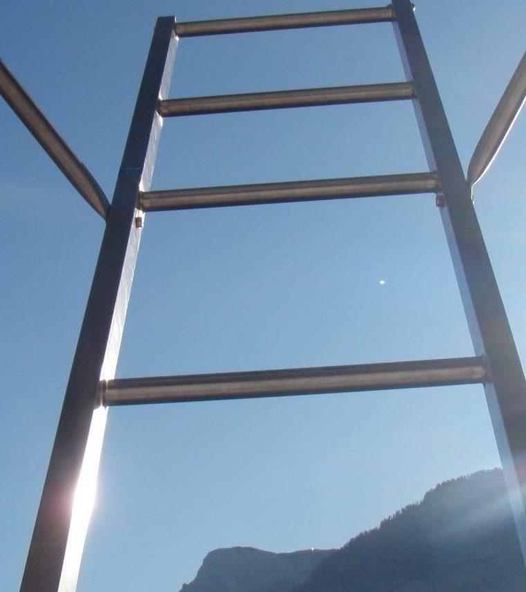 Eine Leiter zum Himmel
